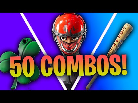 50 Tryhard Skin Combos! Fortnite Chapter 2