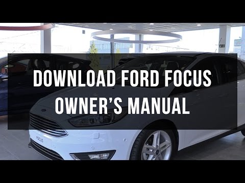 Download Ford Focus owner's manual free