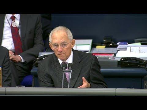 Schäuble zu Jamaika-Aus: Bundestagspräsident Schäuble mahnt Parteien zur Verantwortung