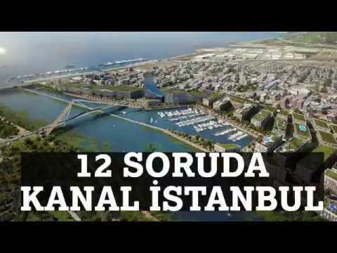 İŞTE KANAL İSTANBUL İLE İLGİLİ AYRINTILAR..