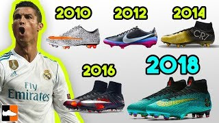 Ronaldo's New Boots & Every Signature Cleat He Has Worn Ever!!