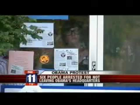 Bradley Manning Supporters Occupy Obama Campaign Office [NBC]