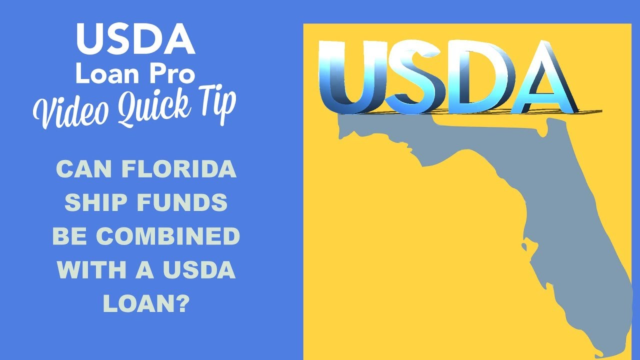 Usda Loan Florida Map.Can Florida Ship Funds Be Combined With A Usda Loan Youtube