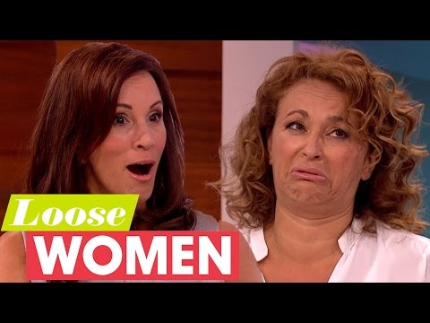 Sawalha Sisters' Evil Childhood Games Shock The Loose Women  Loose Women