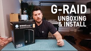 G-RAID Studio - Unboxing and Installation.