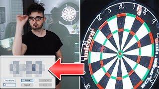 Darts Experiment: 10 Minuten uncut Average-Test
