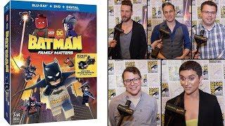 LEGO DC: Batman - Family Matters Cast & Crew Interviews
