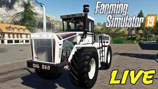 FARMING SIMULATOR 19 #149 LIVE - COMPRIAMO UN BIG BUD 450 - GAMEPLAY ITA