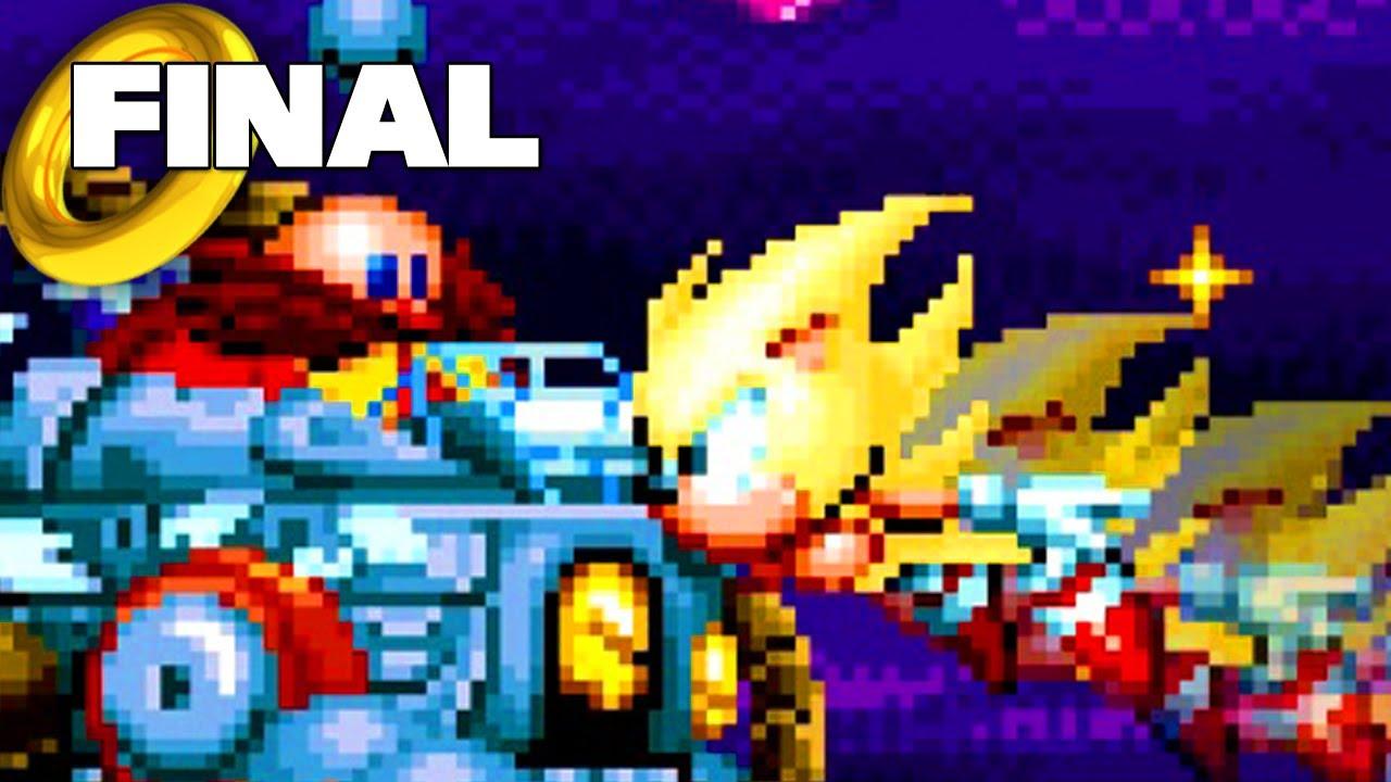 Sonic Mania Cooperativo - ¡Super final!