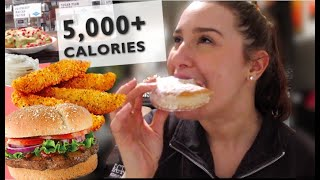Epic Cheat Day #8 | Semi-Christmas themed | Girl vs Food