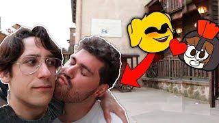 SALSEO CON EL TAG DE LOS COMPAS EN LA VIDA REAL (Mikecrack me besa) 😘😱 VLOG COMPADRETES