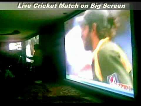 Indulge Cafe ICC World Cup T20 Live Screening on BIG Screen + Music Concert