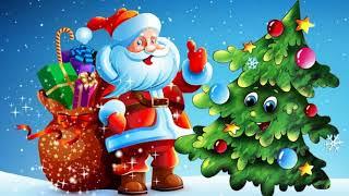Дед Мороз деткам елочку принес
