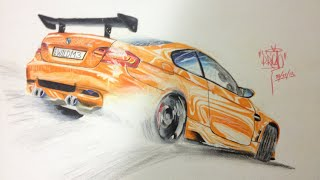 The Drawing Board - BMW M3 GTS Drawing