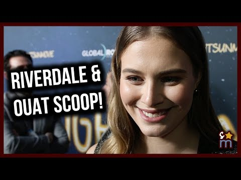 Tiera Skovbye Talks RIVERDALE & RobinAlice on ONCE UPON A TIME & THE MIRACLE SEASON