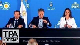 Dujovne Stanley y Sica anunciaron las nuevas medidas económicas TPANoticias