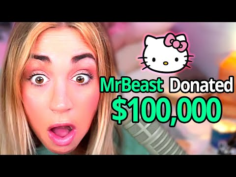 Donating $100,000 To Twitch Streamers! - MrBeast Gaming