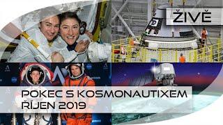 ŽIVĚ: Pokec s Kosmonautixem (říjen 2019)