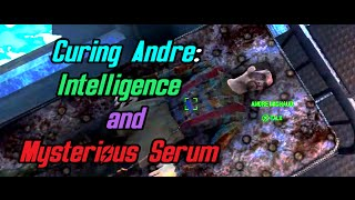 Fallout 4 Far Harbor - Curing Andre With Intelligence And Mysterious Serum