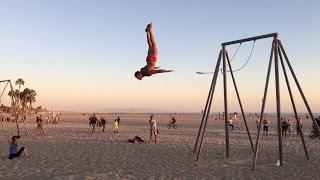 fun people at original muscle beach omb santa monica part 2