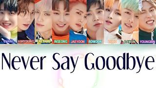 sf9 never say goodbye