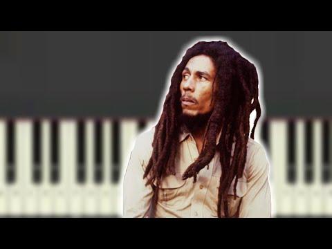 "Piano reggae piano chords : Bob Marley - ""One Love"" Piano Tutorial - (Reggae Bubble Chords) in ..."