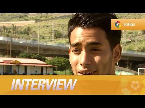 Interview with Sergio Araujo, UD Las Palmas player