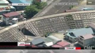 'Model town' destroyed in tsunami