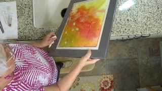 The Art of Pouring Watercolors, Part 3