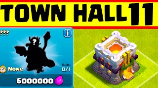 Clash of Clans Update: Clash of Clans TOWN HALL 11 CONFIRMED ♦