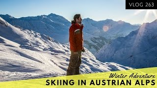 SKIING IN THE AUSTRIAN ALPS - TRAVEL VLOG - DAILY YOUTUBER