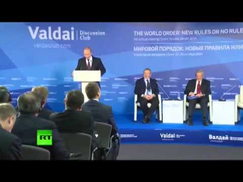 Putins Rede: Scharfe Kritik an der Politik der USA und über die Ausweitung des globalen Chaos