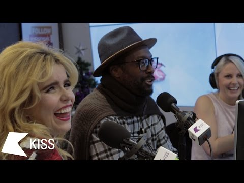 will.i.am & Paloma Faith on their Favourite Karaoke Songs, Industry Advice & more (Part Two)