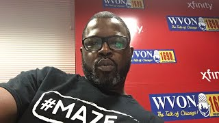 Watch The WVON Morning Show Live...Election Update!