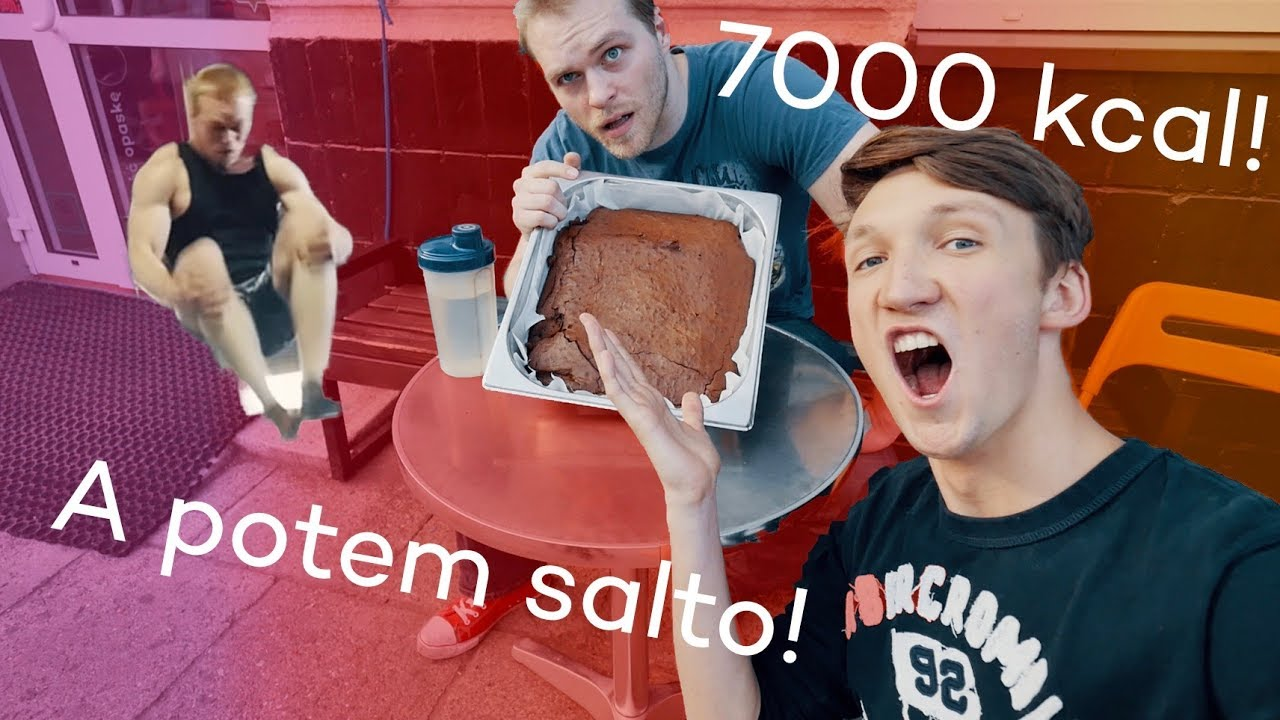 zjadł CAŁE BROWNIE!? ft. Epic Cheat Meal