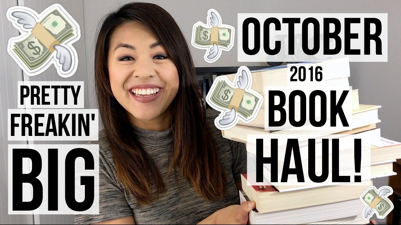 PRETTY FREAKIN' BIG OCTOBER BOOK HAUL | 2016