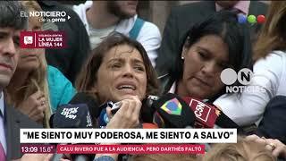 Calu Rivero - Juan Darthés: mediación frustrada - El noticiero de la gente