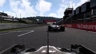 F1 2017 - Extremely close call