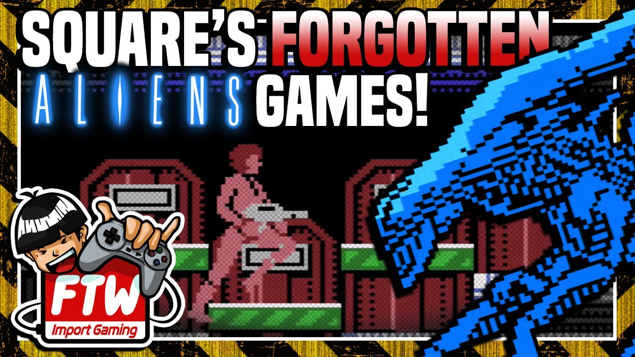 Alien 2 | Square's Pre-Final Fantasy Aliens Game on MSX (w/Rewind Mike!) | Import Gaming FTW #43