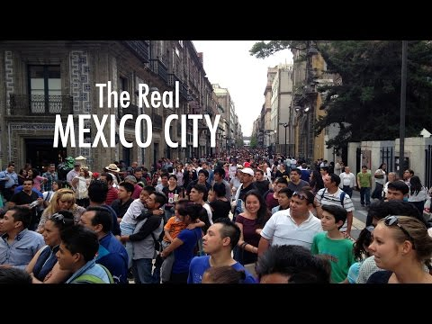 LIVING & TRAVEL: THE REAL MEXICO CITY in PICTURES