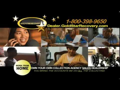 Own Your Own Debt Collection Sales Agency- Work at home.