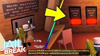 FACILE WAY TO ESCAPE MUSEUM ROBBERY! (Roblox Jailbreak)