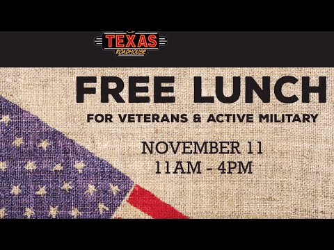Christie James - Veteran's Day Freebies In The Bay Area