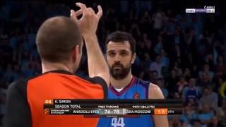 Anadolu Efes vs CSKA Moscow Full Game Highlights 19.3.2019 Round 27