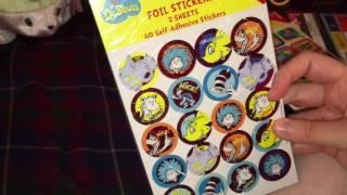 Target Haul (Reward/De.Seuss Stickers) July 3rd,2016