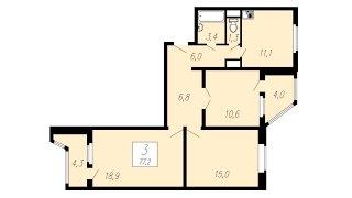 Создание чертежа плана квартиры в AutoCAD 2017