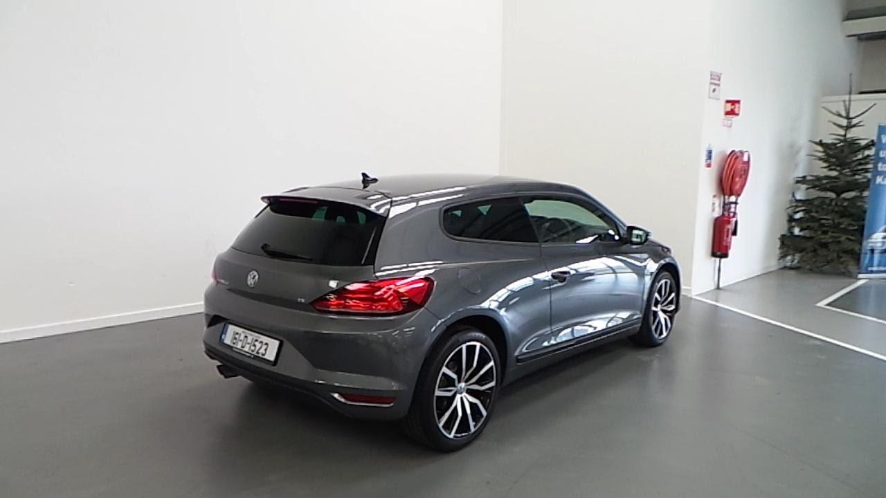 161D1523  2016 Volkswagen Scirocco SPORT 14TSI 125BHP 28450
