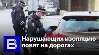В Воронеже инспекторы ДПС проверили соблюдение режима самоизоляции