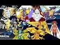 Digimon Adventure PSP - All Digivolutions