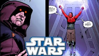 Maul ESCAPES Palpatines Secret Prison (CANON) - Star Wars Comics Explained
